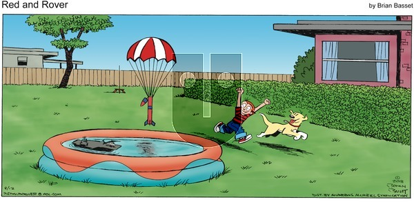 Red and Rover on Sunday August 12, 2018 Comic Strip