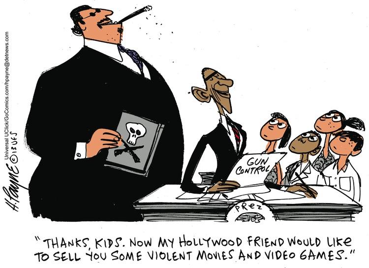Henry Payne Comic Strip for January 20, 2013