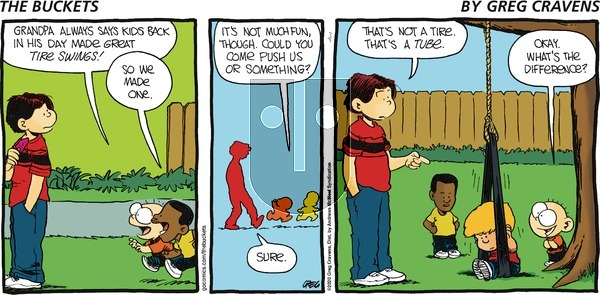 The Buckets on Sunday July 5, 2020 Comic Strip