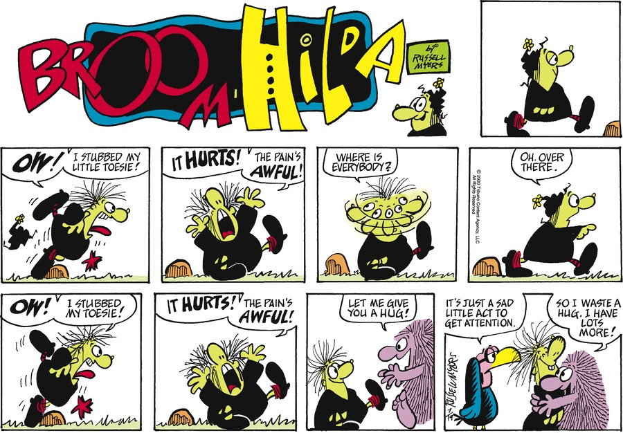 Broom Hilda by Russell Myers on Sun, 19 Jul 2020