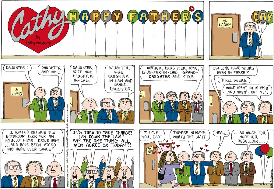Cathy for Jun 16, 2013 Comic Strip