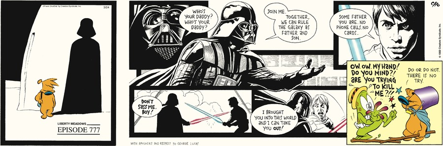 Liberty Meadows for Mar 24, 2013 Comic Strip