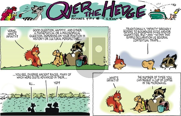 Over the Hedge on Sunday June 27, 2021 Comic Strip