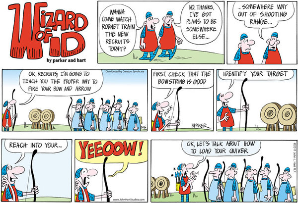 Wizard of Id Comic Strip for May 15, 2011