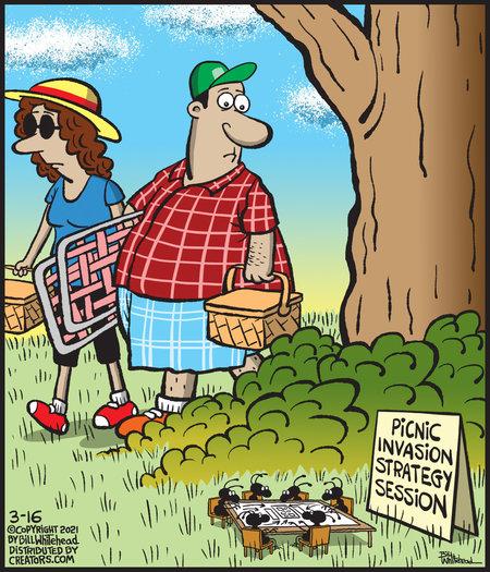 Free Range Comic Strip for March 16, 2021