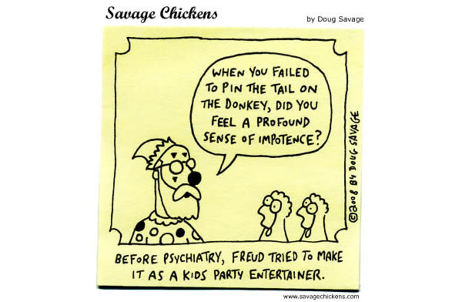 Savage Chickens for Oct 11, 2012 Comic Strip