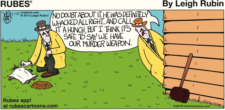 Rubes for Jan 27, 2013 Comic Strip