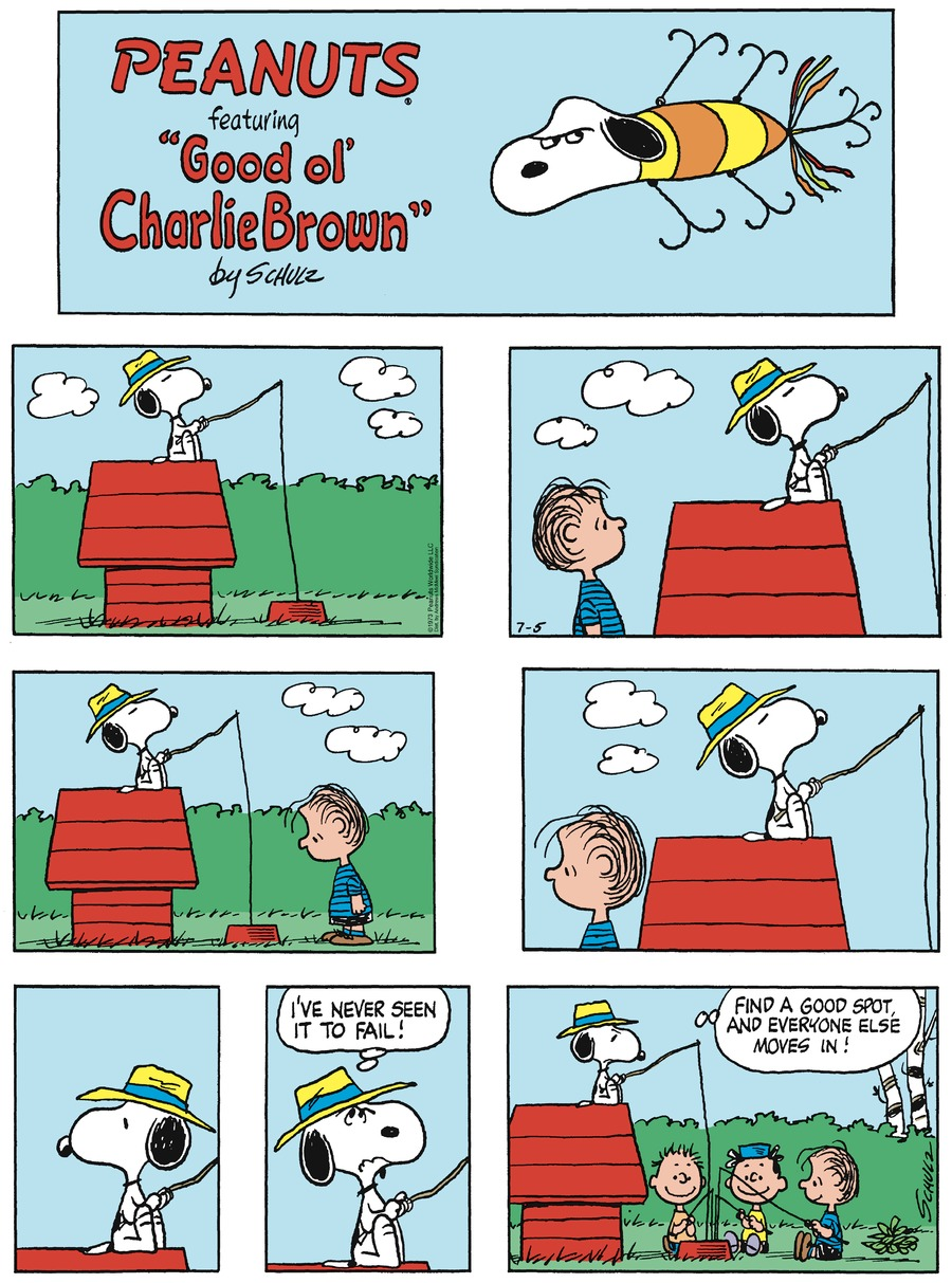 Peanuts by Charles Schulz on Sun, 05 Jul 2020