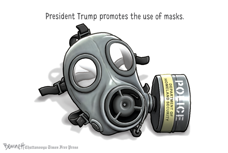 Clay Bennett Comic Strip for July 26, 2020