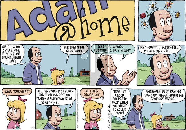 Adam@Home on Sunday April 26, 2020 Comic Strip