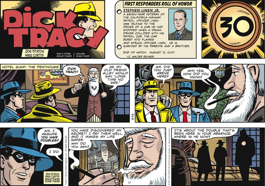 Dick Tracy Comic Strip for March 19, 2017