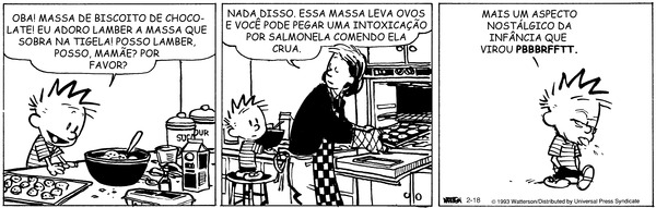 Calvin and Hobbes - Brazilian Portuguese