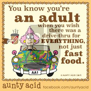 Aunty Acid on Wednesday October 23, 2019 Comic Strip