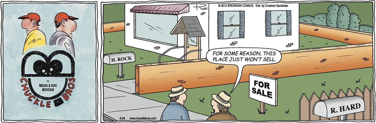 Chuckle Bros Comic Strip for June 24, 2012