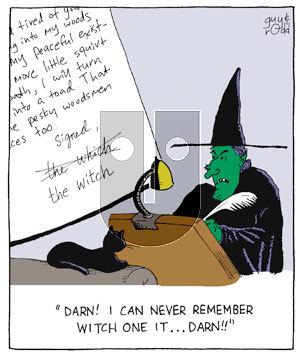 Brevity on Thursday April 7, 2005 Comic Strip