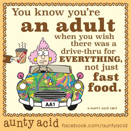 Aunty Acid Comic Strip for October 23, 2019