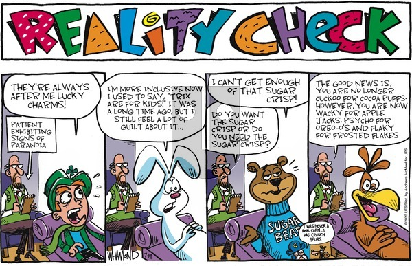 Reality Check on Sunday July 19, 2020 Comic Strip