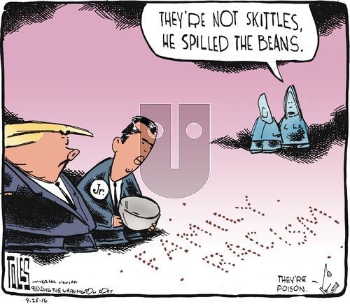 Tom Toles on Sunday September 25, 2016 Comic Strip