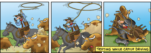 2 Cows and a Chicken for Sep 14, 2010 Comic Strip