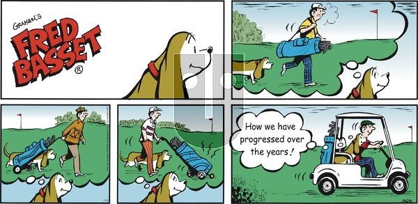 Fred Basset - Sunday November 3, 2019 Comic Strip