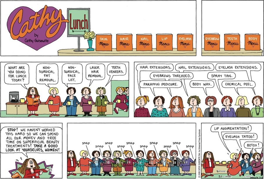 Cathy by Cathy Guisewite for March 03, 2019