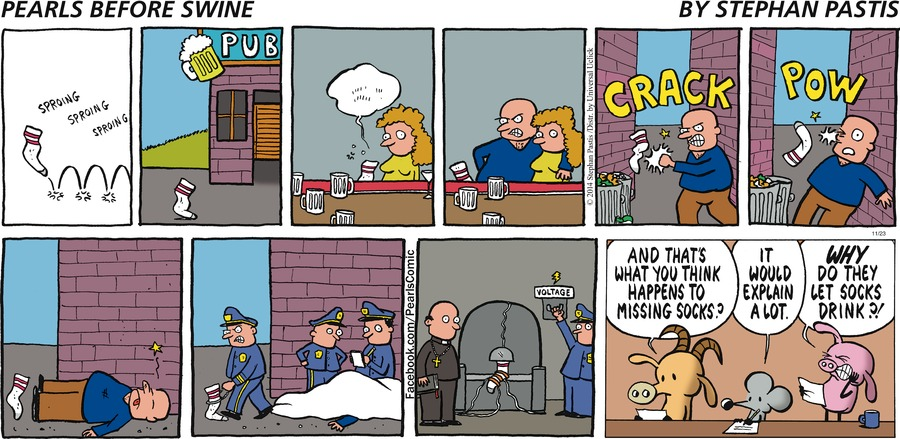 Pearls Before Swine Comic Strip for November 23, 2014