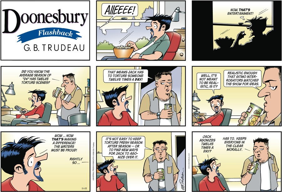 Doonesbury Comic Strip for November 22, 2009