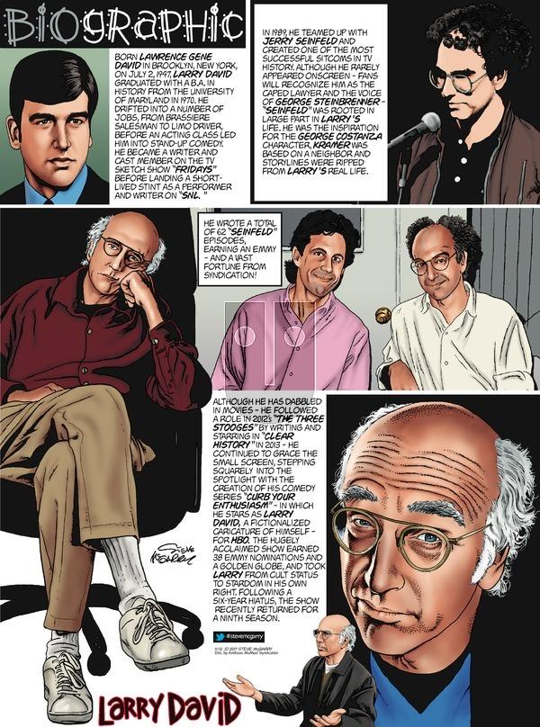 Biographic on Sunday November 12, 2017 Comic Strip