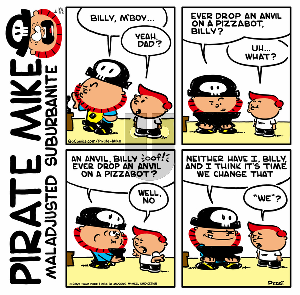 Pirate Mike on Monday May 3, 2021 Comic Strip