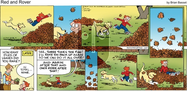 Red and Rover on Sunday October 10, 2021 Comic Strip