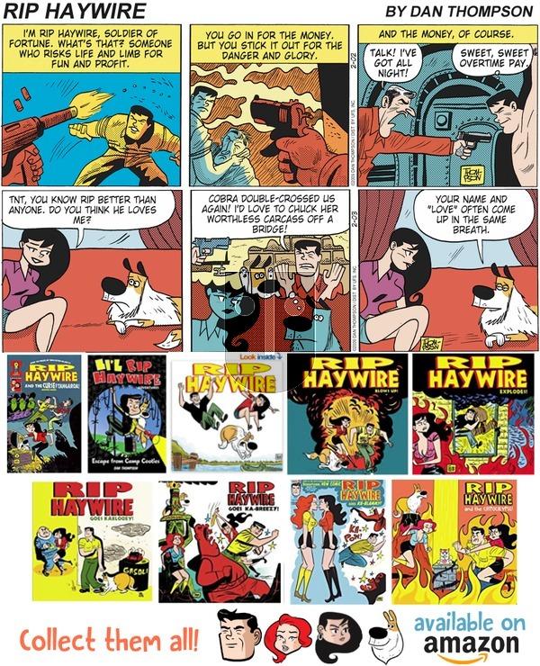 Rip Haywire on Sunday June 17, 2018 Comic Strip
