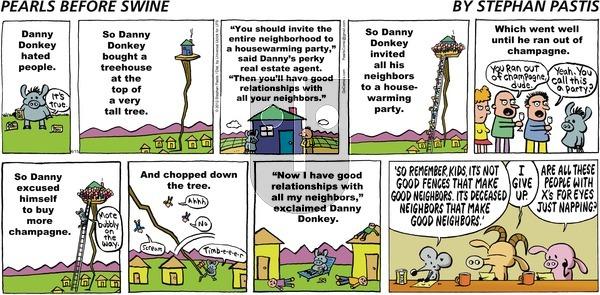 Pearls Before Swine on Sunday April 15, 2012 Comic Strip