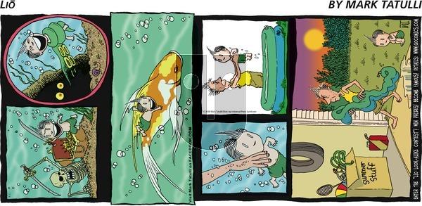 Lio on Sunday September 13, 2009 Comic Strip