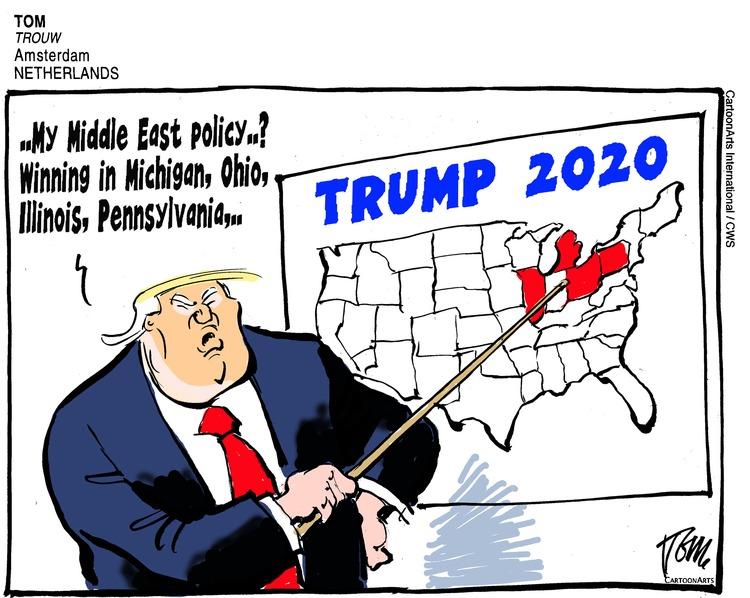 ViewsAmerica Comic Strip for January 12, 2020