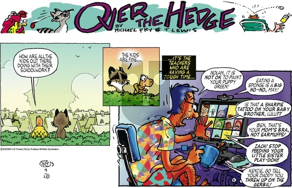 Over the Hedge on Sunday September 20, 2020 Comic Strip