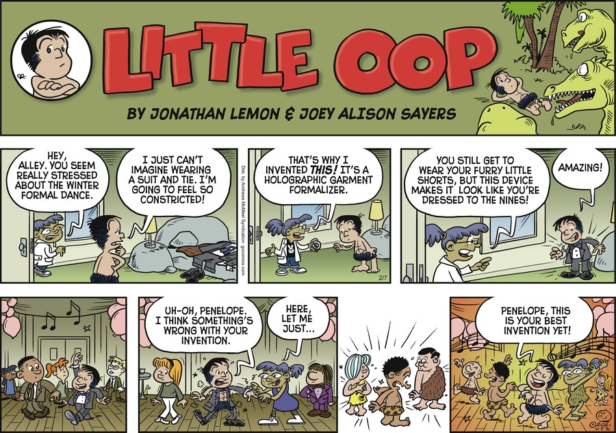 Alley Oop Comic Strip for February 07, 2021