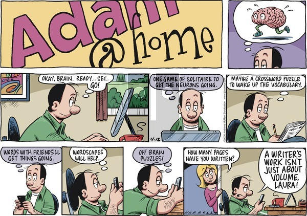 Adam@Home on Sunday April 12, 2020 Comic Strip