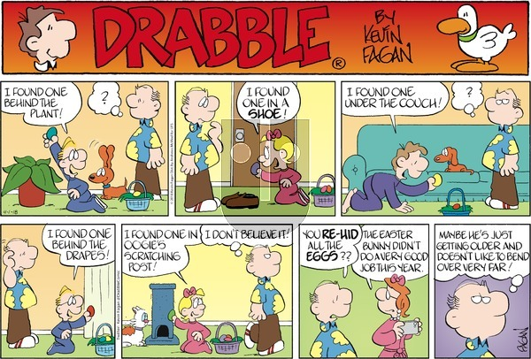 Drabble on Sunday April 1, 2018 Comic Strip