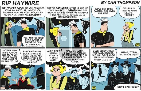 Rip Haywire on Sunday May 31, 2020 Comic Strip