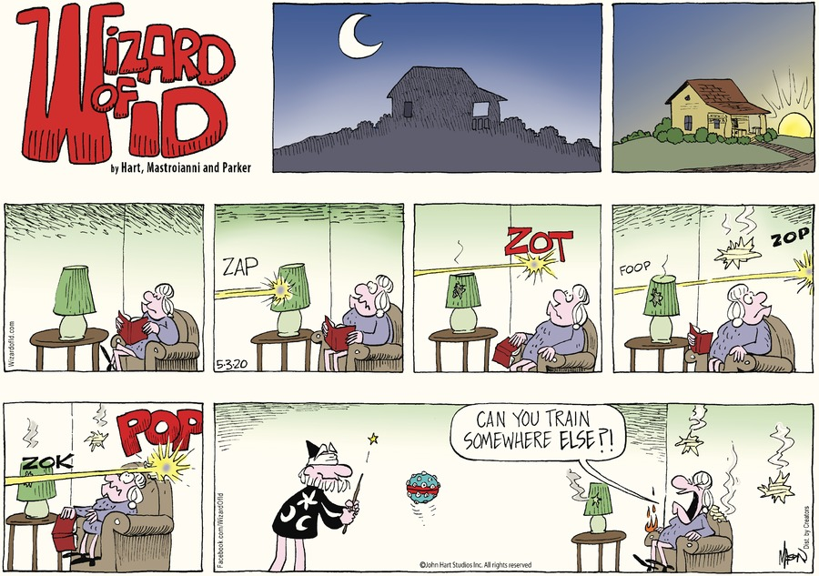 Wizard of Id Comic Strip for May 03, 2020