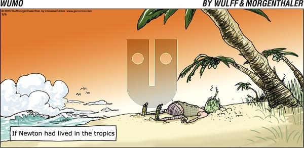 WuMo - Sunday September 6, 2015 Comic Strip