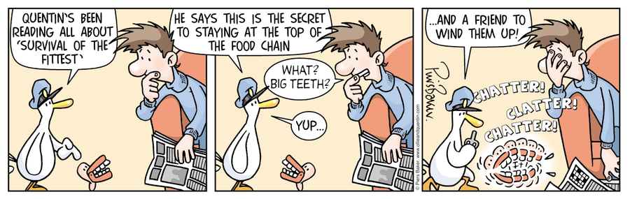 Ollie and Quentin Comic Strip for May 28, 2013