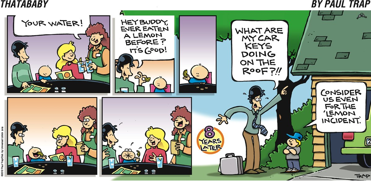 Thatababy for Mar 18, 2012 Comic Strip
