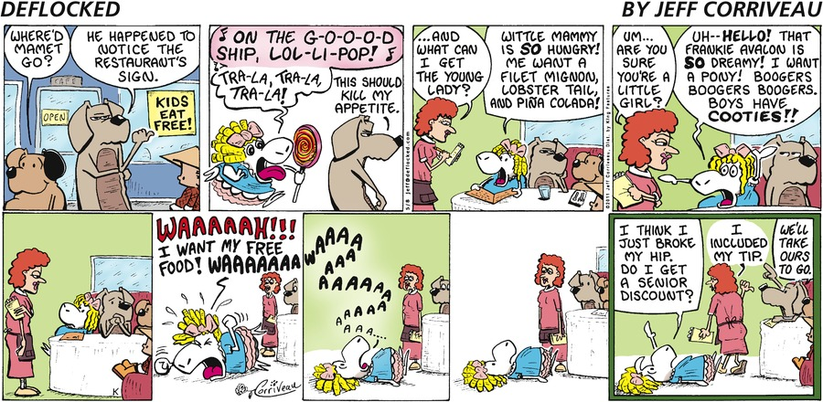 DeFlocked Comic Strip for May 08, 2011