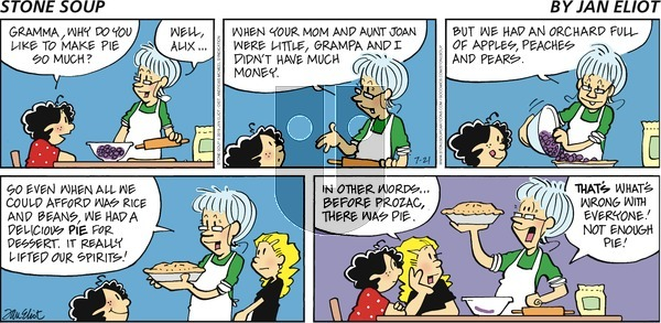 Stone Soup on Sunday July 21, 2019 Comic Strip