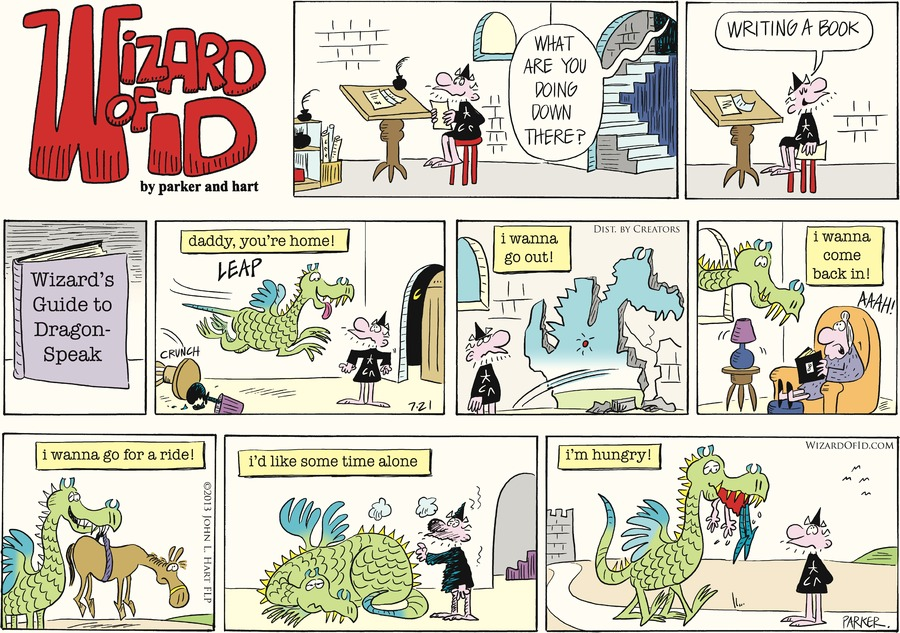 Wizard of Id for Jul 21, 2013 Comic Strip
