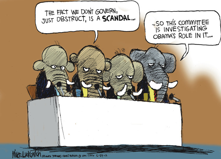 Mike Luckovich Comic Strip for May 29, 2013