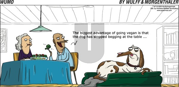 WuMo on Sunday June 7, 2020 Comic Strip