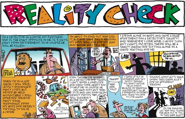Reality Check on Sunday April 21, 2019 Comic Strip