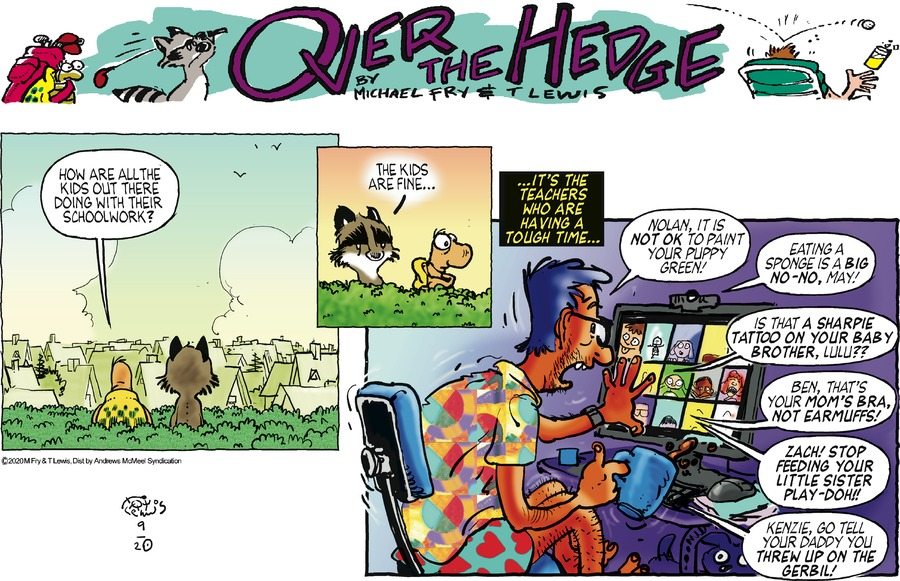 Over the Hedge Comic Strip for September 20, 2020